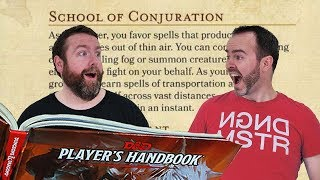 Conjuration Magic in 5e Dungeons and Dragons