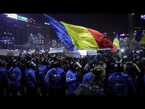 Румыния: крупнейшие протесты со времён Чаушеску
