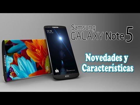 Samsung Galaxy Note 5: Rumores y Características (en Español)