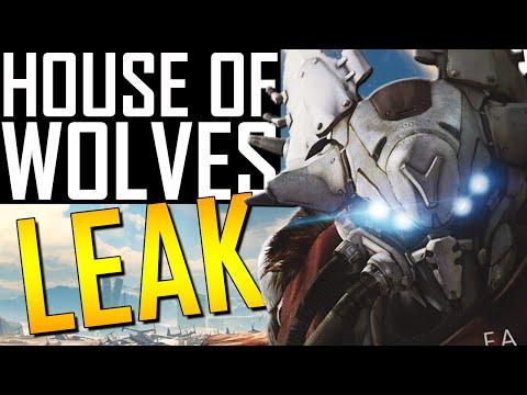 Destiny - House Of Wolves Leak! All Vendor Weapons!