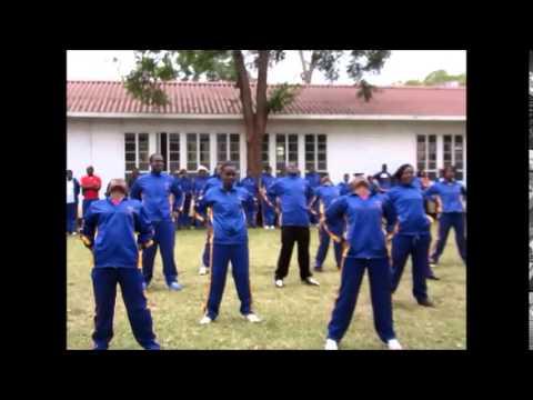 radio taisou@Hillside teachers' College in Zimbabwe