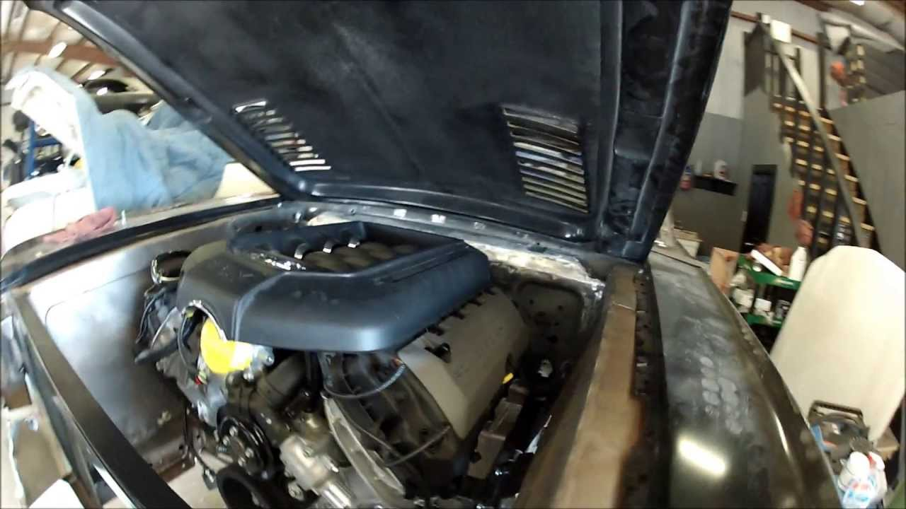 Coyote In 65 Mustang Youtube