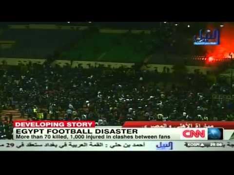 Egypt Soccer Fans Dozens left dead as rival fans clash