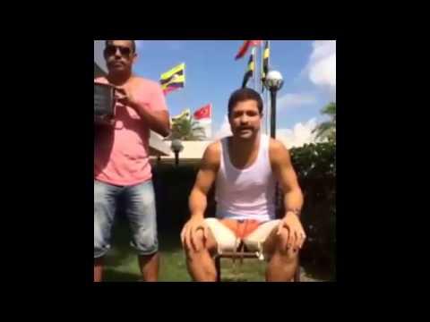 Diego Ribas ALS Ice Bucket Challenge - 'Ice Bucket Challenge'