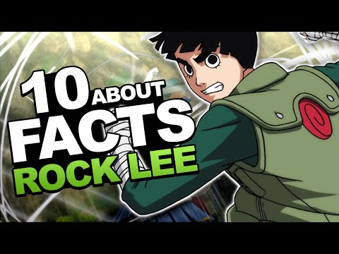 10 Facts About Rock Lee You Should Know!!! thumbnail