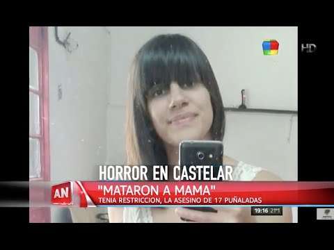 Horror en Castelar: Mató a su ex de 17 puñaladas y delante de sus hijos
