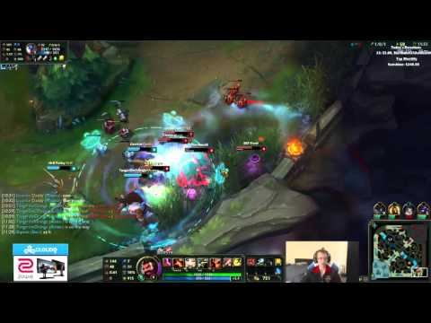 Meteos leaking Riot intel and getting a quadra with Graves
