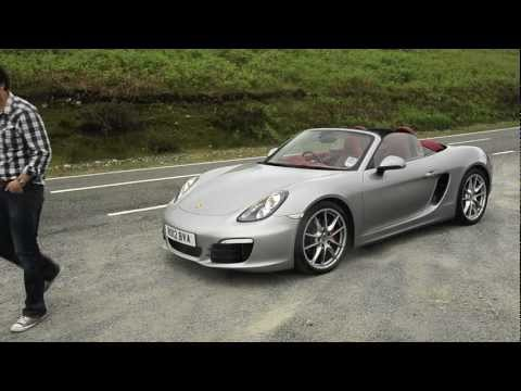 Porsche Boxster S 2012 Road Test - Honestjohn.co.uk [HD]