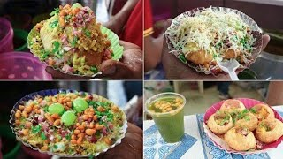 DELHI CHAAT | BHEL PURI | PANI PURI | BHEL KACHORI | DAHI PURI - Indian Street Food Compilation