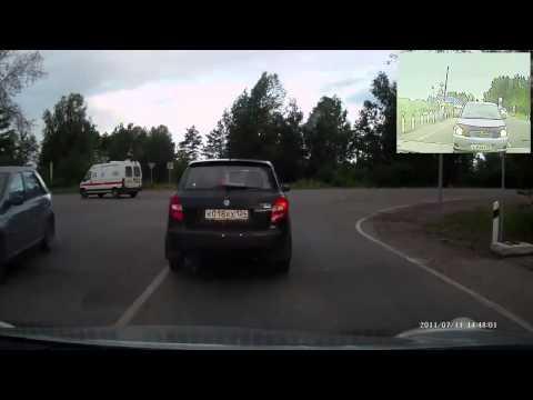 Авария в Железногорске 21 08 2014