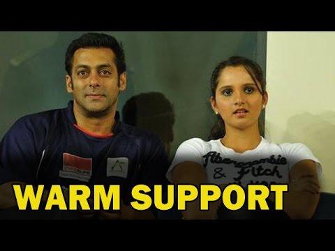 Salman Khan in favour of Sania Mirza | Bollywood News