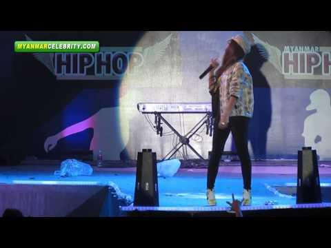 myanmar Hip Hop Music Concert  Myaw Sin Gyun video
