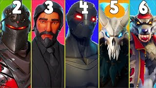 RANKING EVERY BATTLE PASS SKIN FROM WORST TO BEST! (Season 2-6) | Fortnite Battle Royale!