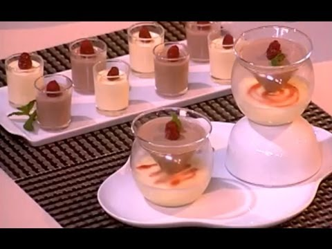 Choumicha et l'œuf Marocain: Bavarois à la vanille et au chocolat