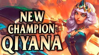 NEW CHAMPION QIYANA JUNGLE! CRAZY NUKES & AOE DMG! - League of Legends S9