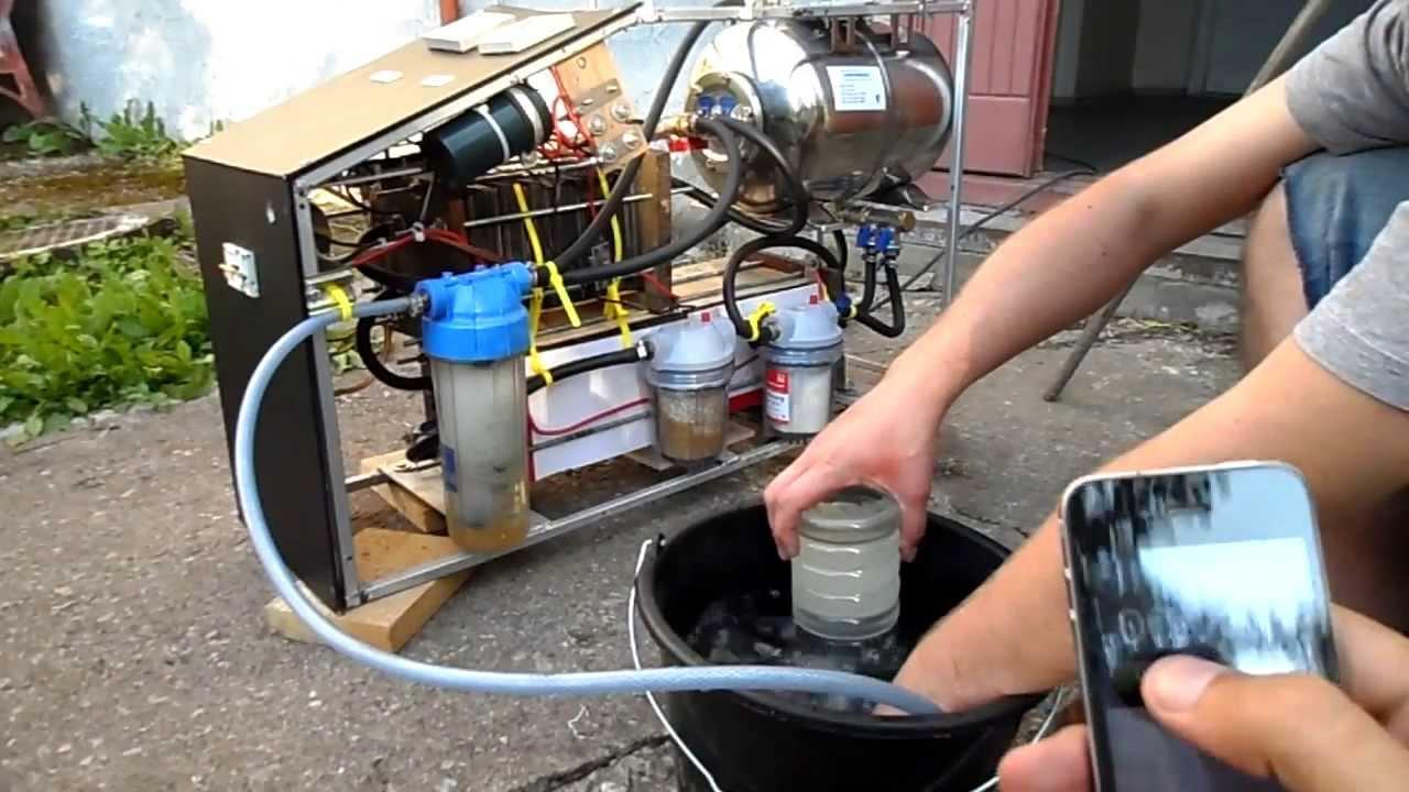 Отопление дома водородом своими руками