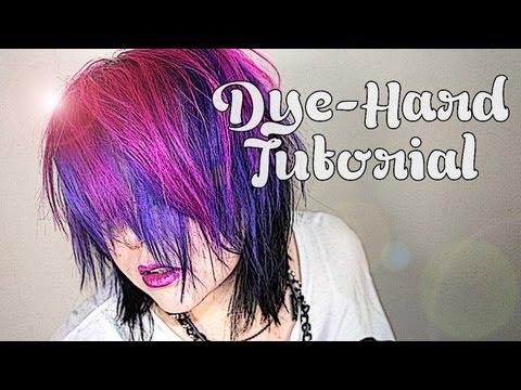 LIVE FREE & DYE-HARD: Pink. Purple & Black!
