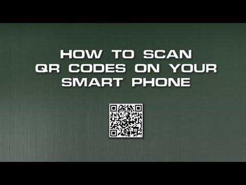 How to scan QR codes on Smartphones, Android to Apple Iphone 5, Blackberries, HTC, ipads, iphones