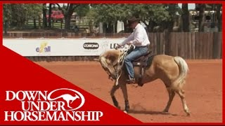 Clinton Anderson: Training a Rescue Horse, Part 12 - Downunder Horsemanship
