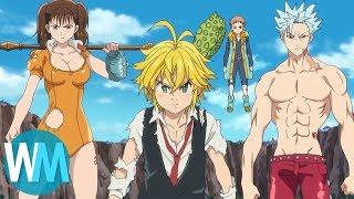 Top 10 Anime Team Battles