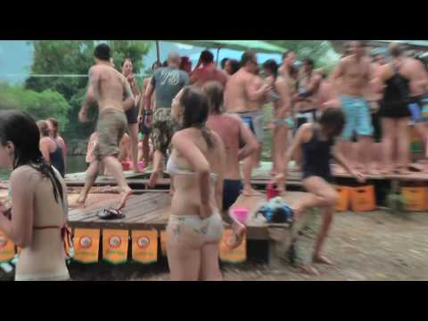 Tubing in Laos (and the broken skull) (HD)