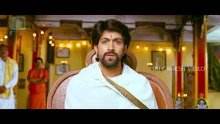 GajaKesari Kannda Movie Scene- Yash as Matadipathi