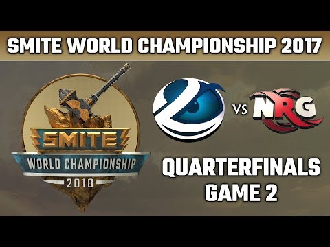 SMITE World Championship 2018: Quarterfinals - Luminosity vs. NRG Esports (Game 2)