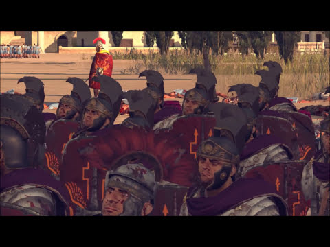 Rome 2 Total War Lets Compare Units in Battle. # 66  Praetorian Guard vs Mobs!!!! ( Lots of Death)