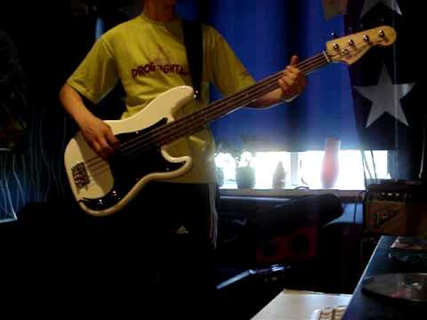 Iron maiden drifter bass cover