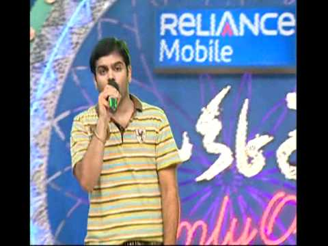 Saregame Song By Sree Ram Chandra In Okkare Contest video