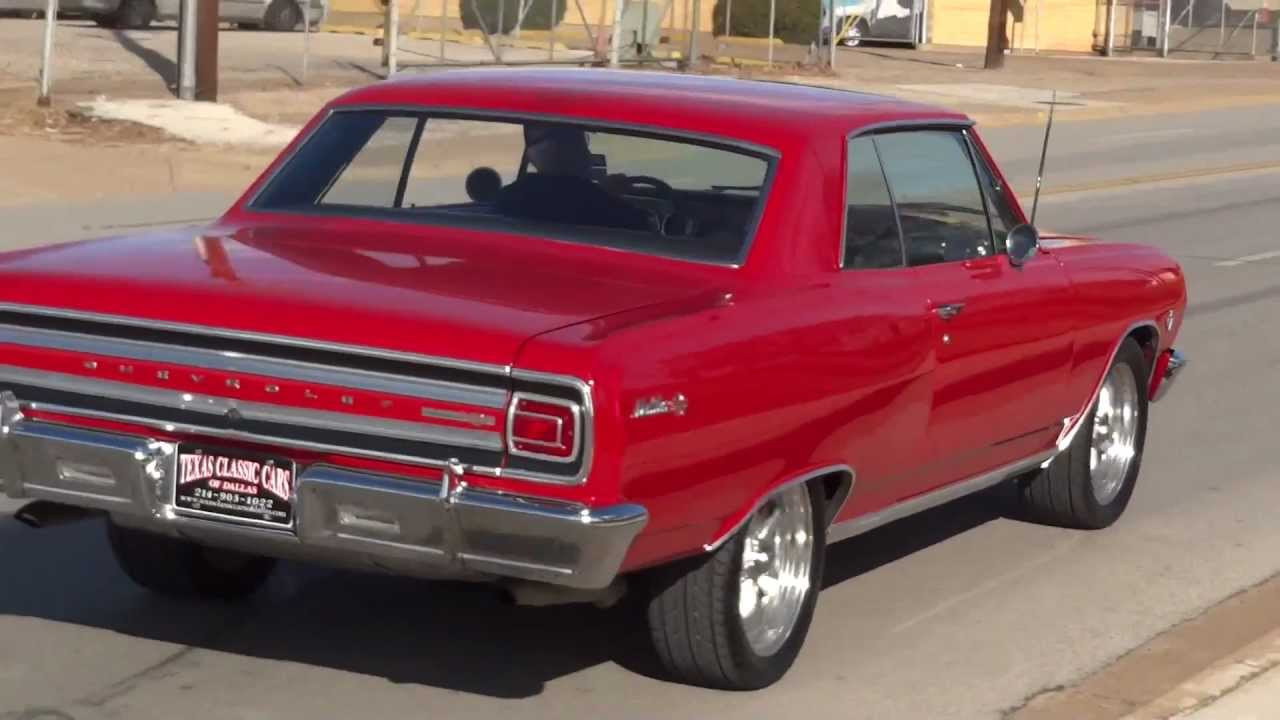 1965 Chevrolet Chevelle Ss L 79 Youtube