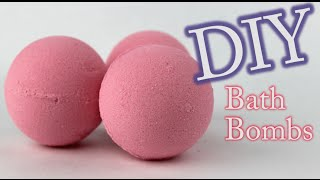 DIY Bath Bomb - How To Make Bath Bombs