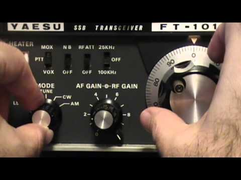 How To Zero Beat Yaesu FT-101B