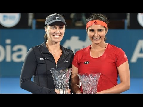 Sydney International Final | Sania Mirza and Martina Hingis Win Sydney Title