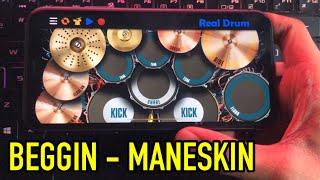 Download BEGGIN' - MANESKIN | REAL DRUM COVER Mp3/Mp4