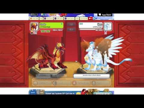 EPIC COMBAT Burning Dragon Cerberus Dragon and Demon Dragon Attacks Fight