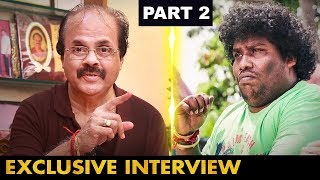 Award வாங்கும்போது என்னைவிட YogiBabu-க்குதான் Sound அதிகம்வந்தது|ActorComedian Crazy Mohan Interview