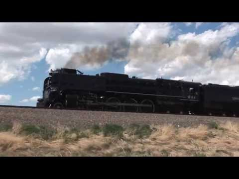 Union Pacific 844 & Lincoln Highway Centennial (part 2 of 3)