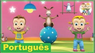 Mão Direita, Mão Esquerda | Canções Creche Pré-Escolar | BBtwins | Vídeos HD | Português