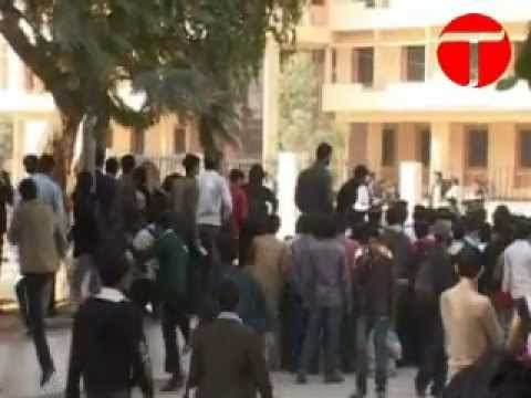 Guns and exams, at Karachi University