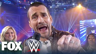 CM Punk cuts a promo on Tom Arnold in Social Media SmackDown | WWE BACKSTAGE | WWE ON FOX