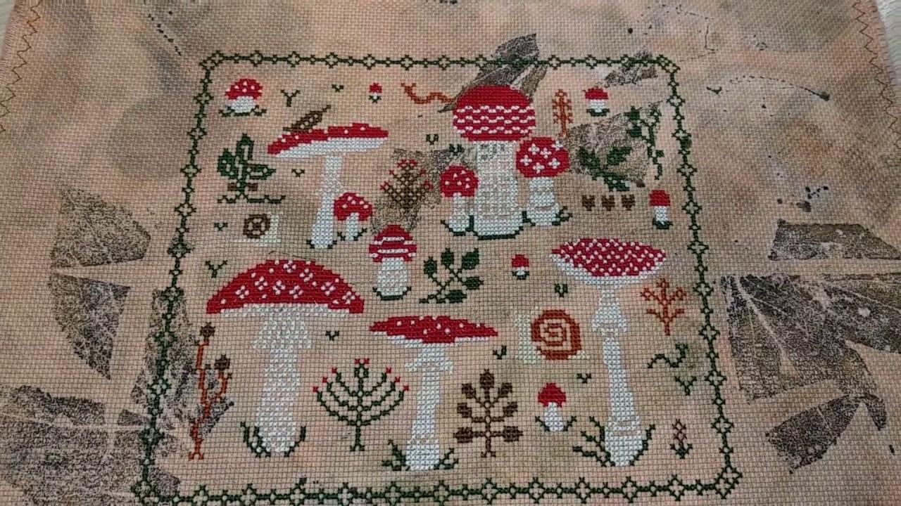 Вышивка крестиком баннер 97