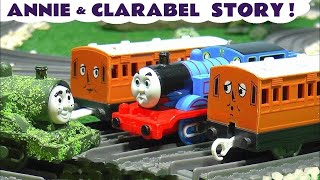 Thomas & Friends Annie and Clarabel toy train story with Tom Moss The Prank Engine TT4U