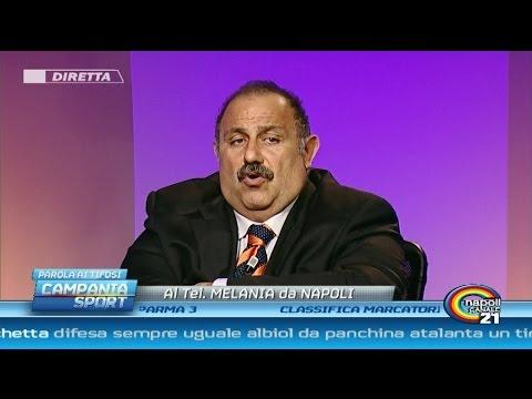 Campania Sport (parola ai tifosi) post Atalanta-Napoli 1-1 - Canale 21 29/10/14