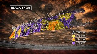 Mining Chrome Technical 3D Animation / IR PR Presentation Ontario Canada Cliffs Natural Resources