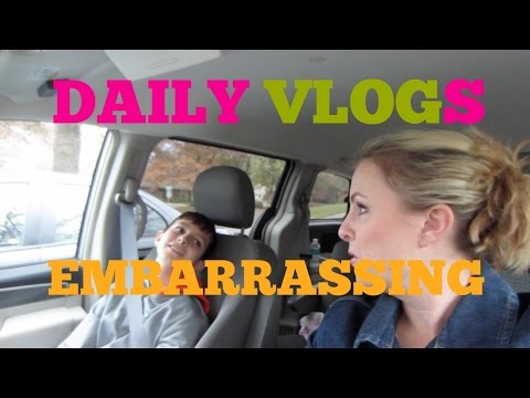 Embarrassing Parents, Preteen Woes | Daily Vlogs video