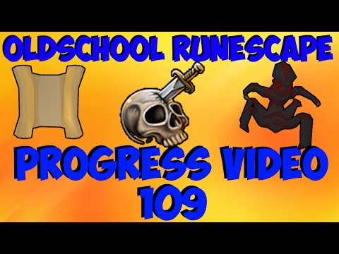 Oldschool Runescape - 94 Attack! + Slayer & Clues Loot! | 2007 Servers Progress Ep. 109
