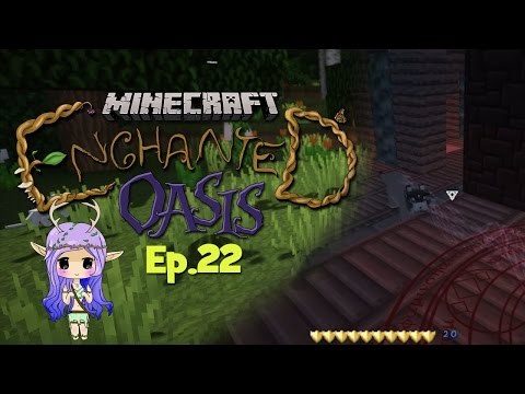 kitten Catastrophe Minecraft Enchanted Oasis Ep 22 video