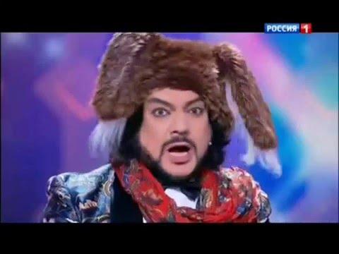 Филя и Степашка в новогоднем Параде звезд.