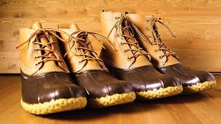How To Wear LL Bean Bean Boots And Review/How To Style LL Bean Men's Boots
